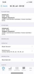 MEP24team App Zeiterfassung