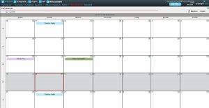 Der Eventkalender gibt einen Überblick über allgemeine Termine