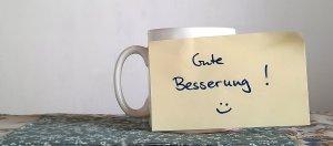 Gute Besserung Kaffeetasse