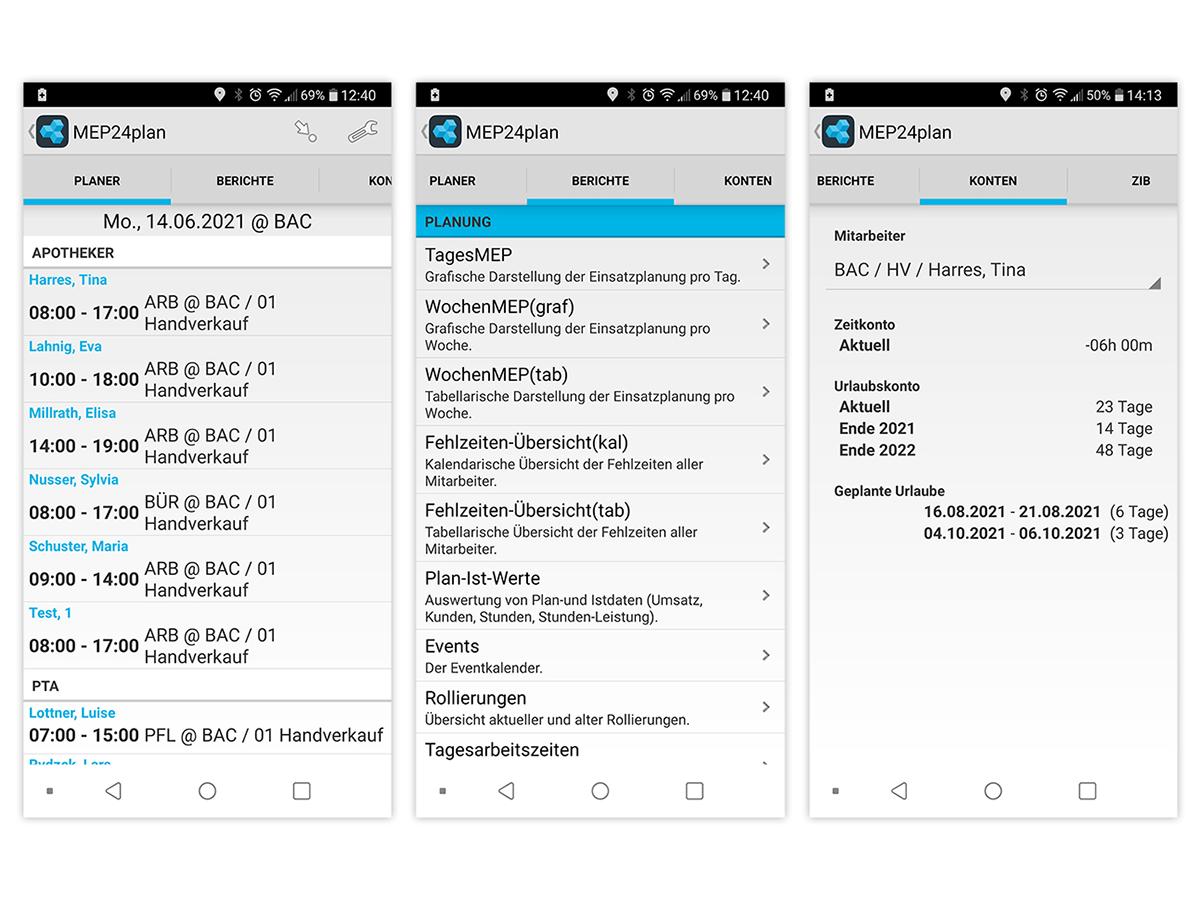 App MEP24plan für Android
